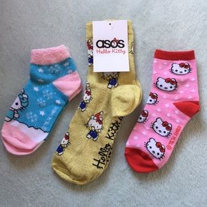 NWT Hello Kitty Sock Bundle